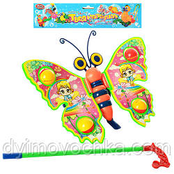 Игрушка - каталка на палочке Бабочка 1200 Play Smart