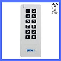 Беспроводная клавиатура со встроенным считывателем SEVEN Lock SK-7712w В наличии
