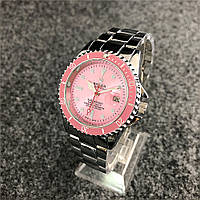 Наручные мужские часы Rolex Submariner 6478 Silver-Pink, фото 1