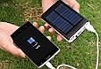 Зарядное Устройство на Солнечной Батарее с Фонарем Smart Power Bank 50000 mAh, фото 4