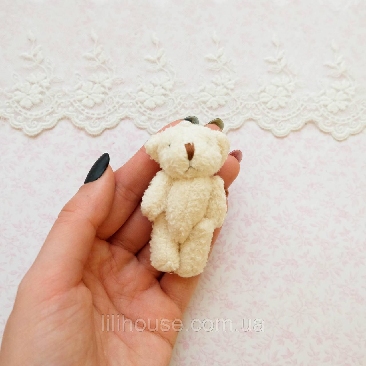 Мягкая Игрушка Медвежонок 6.5 см МОЛОЧНЫЙ