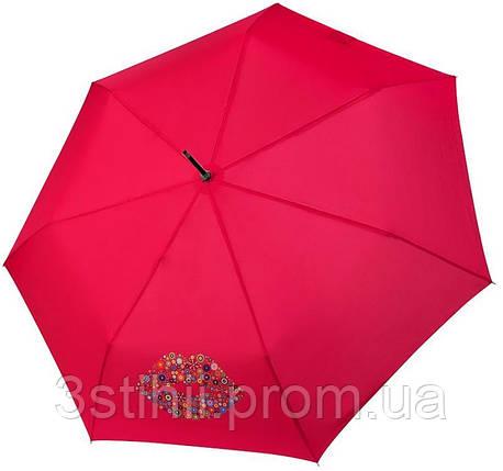 Зонт-трость Doppler полуавтомат 740765Кiss-1 Красный, фото 2