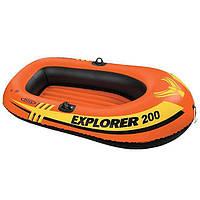 Надувная лодка Explorer 200 Intex 58330, 185х94х41 см