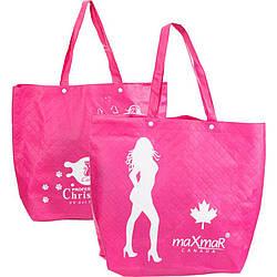 Сумка брендированная №2 розовая (Christian, maXmaR)