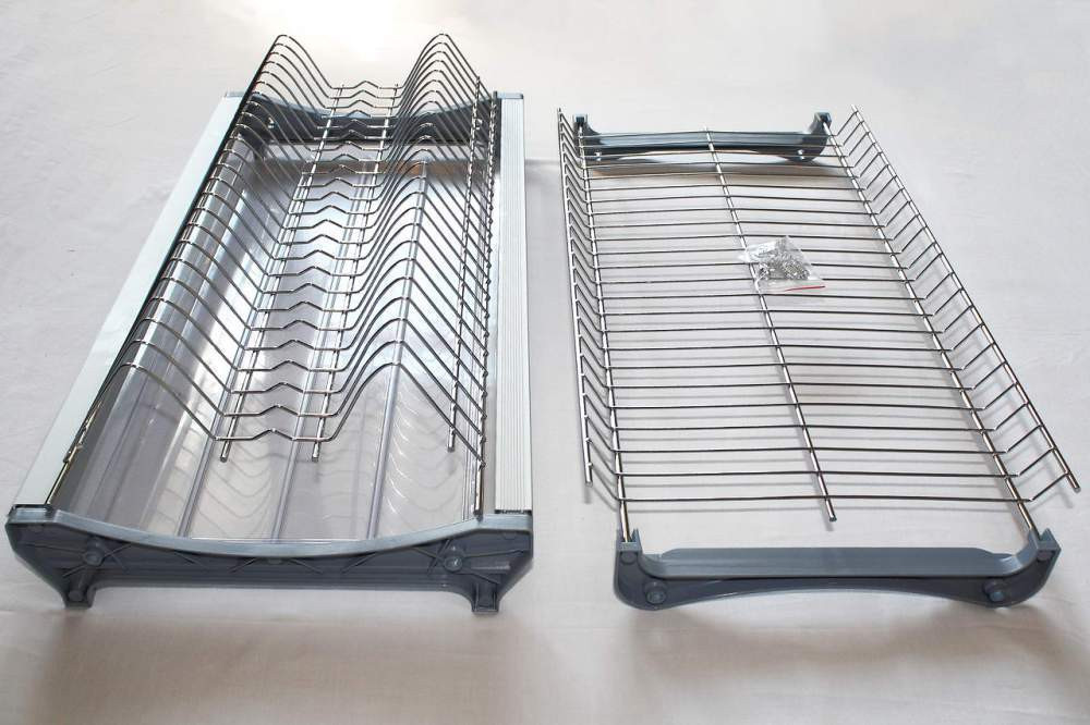 Сушка L=800, хром c алюминиевой рамкой