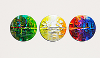 Модульная картина 3 модуля Круглая