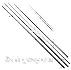 Фидер Brain Apex Double 2.4m carp rod: 3,0lb; feeder rod: up to 120g