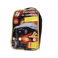 Тент для легкового автомобиля Milex полиэстер размер M на Skoda Fabia 2014-