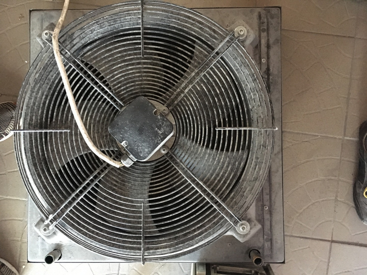 Блок вентиляции и кондиционирования для промышленной системы (лопасти 450мм)