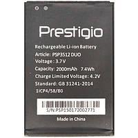 Аккумулятор Prestigio PSP3512 (2000 mAh). Батарея Престижио Muze B3. Original АКБ (новая)