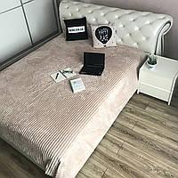 Плед Микрофибра на двуспальную кровать размер 200*230