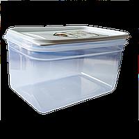 Контейнер Flexy Box прямоугольный 1,3 л прозрачный крышка белая Irak Plastik