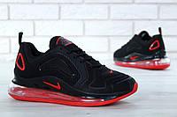Мужские кроссовки Nike Air Max 720 black-red