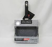 Гранитная сковорода Olina 28 см олина бакелитовая ручка премиум класса высокая