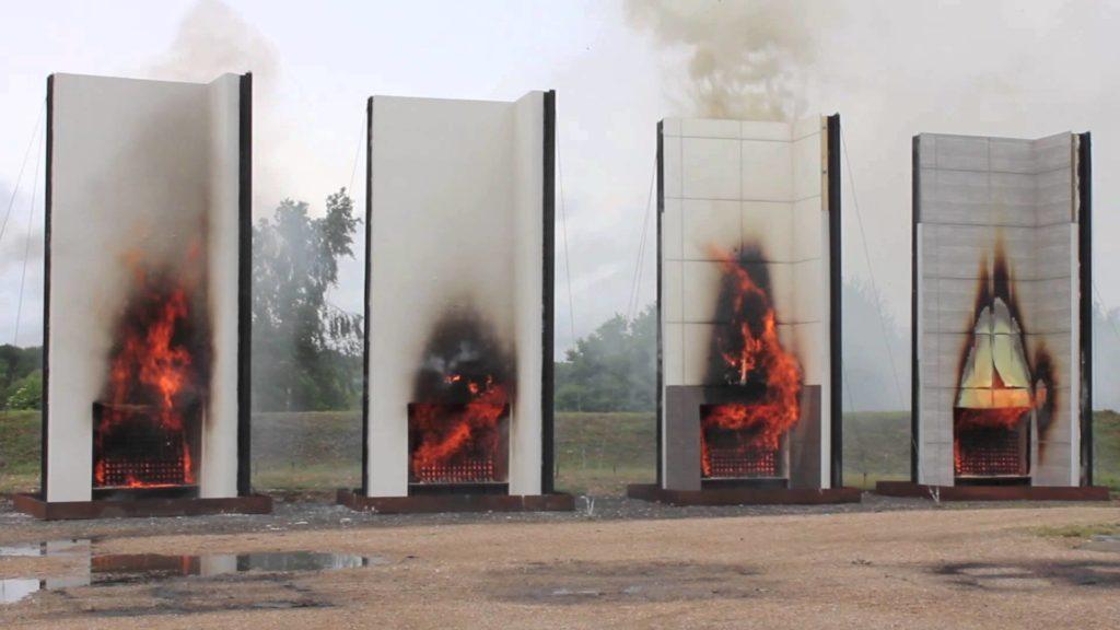 Организация исследований пожарной безопасности строительных материалов и изделий, строительных конструкций
