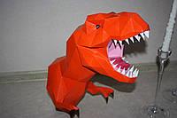 "3D фігура з паперу ""Динозавр"""