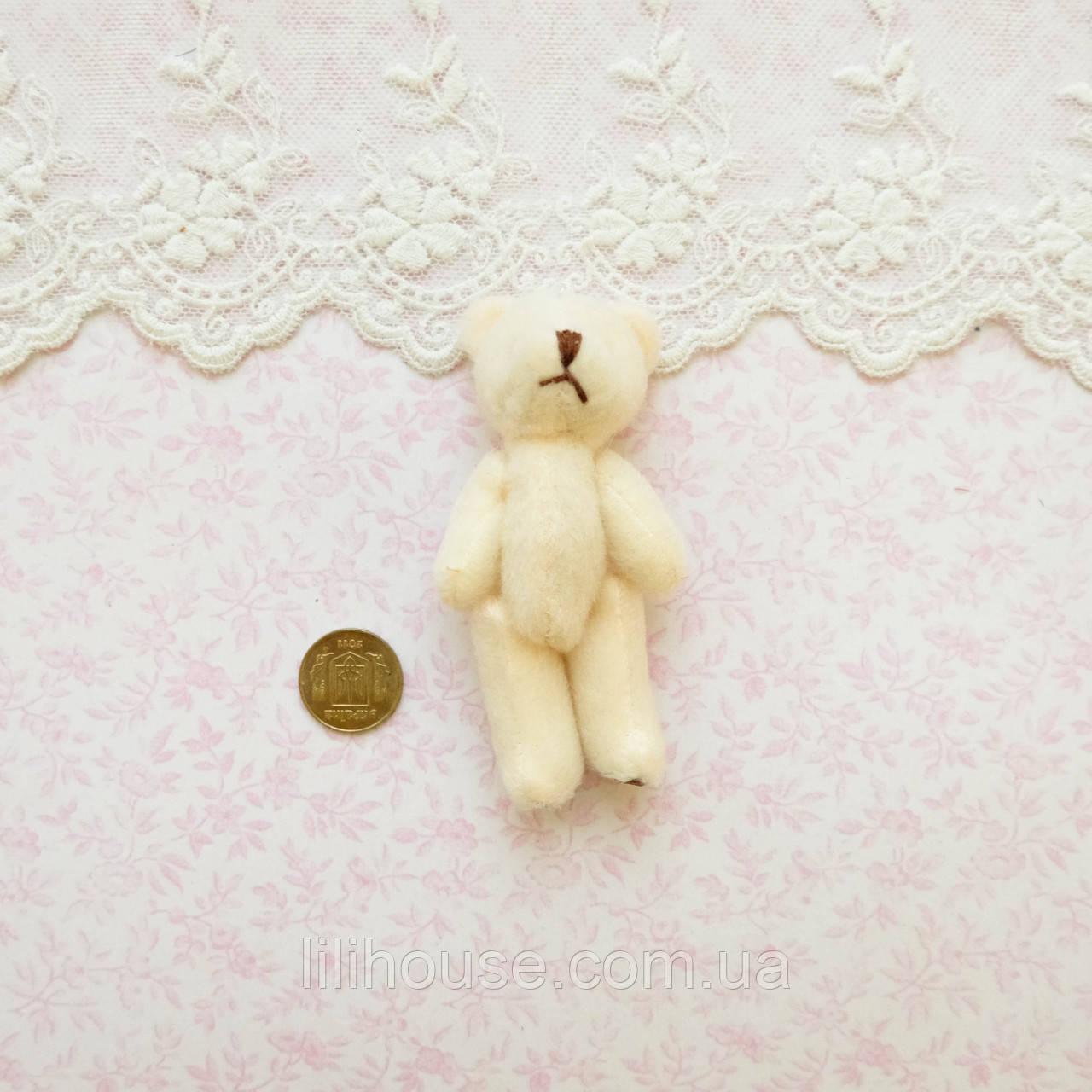 Мягкая Игрушка Медвежонок 8 см МОЛОЧНЫЙ