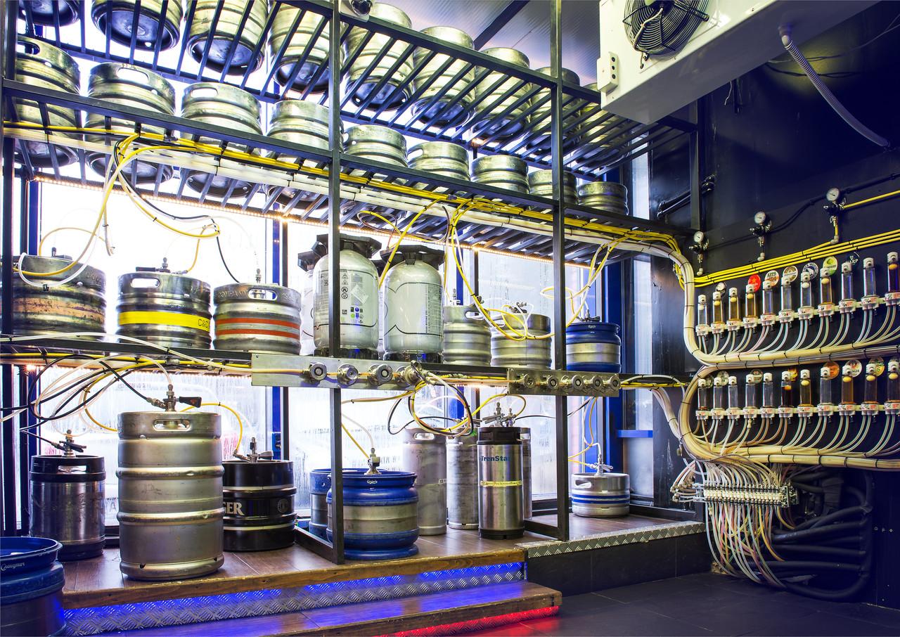 Холодильная камера колд рум cold room для пивных кег - индивидуальный проект