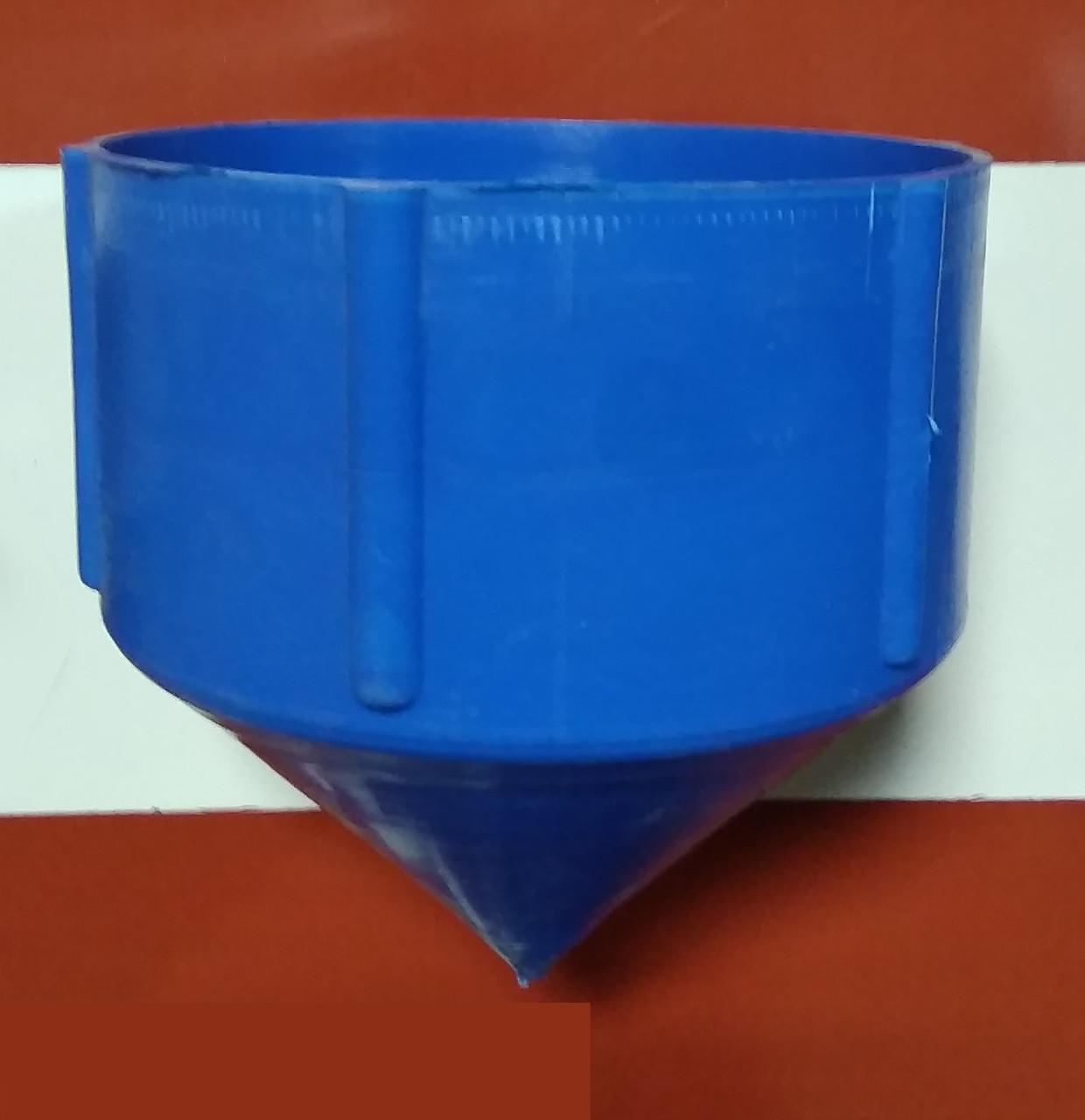 Заглушка для скважинной трубы «нижняя» на резьбе Ø 125 мм