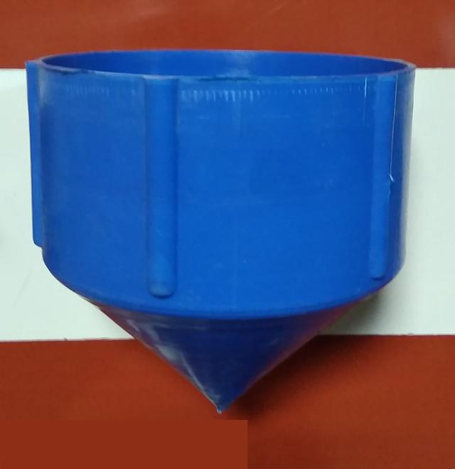 Заглушка для фильтра скважины «нижняя» Ø 125 мм