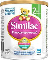Смесь молочная сухая Similac Гипоаллергенный 2 симилак, 375 г