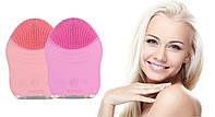 Щетка для чистки лица FINENESS FE-LV PRO (розовый)