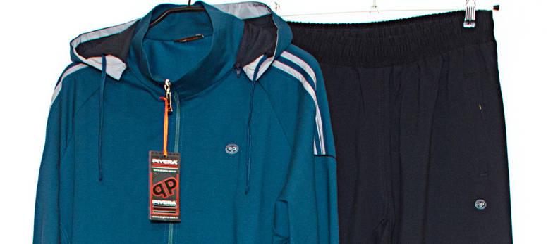 Спортивный костюм мужской с капюшоном PIYERA 7410 (3X), фото 3