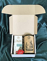 Подарочный набор  чайно- кофейный * Изумрудная улитка* ТМ NADIN   300 г