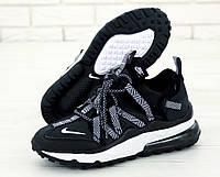 "Кроссовки мужские Nike Air Max 270 Browfin ""Черные"" найк аир макс р.41-45, фото 1"