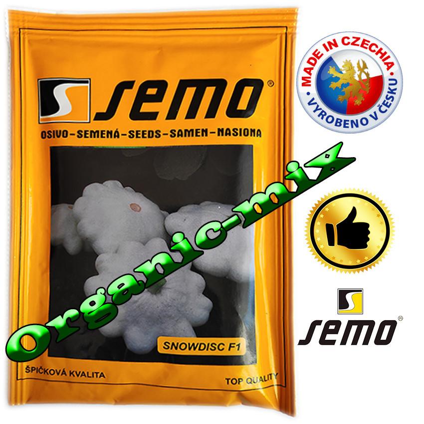 Патиссон мини, белый СНОУДИСК F1 / SNOWDISK F1, ТМ Semo (Чехия) 100 семян, проф. пакет