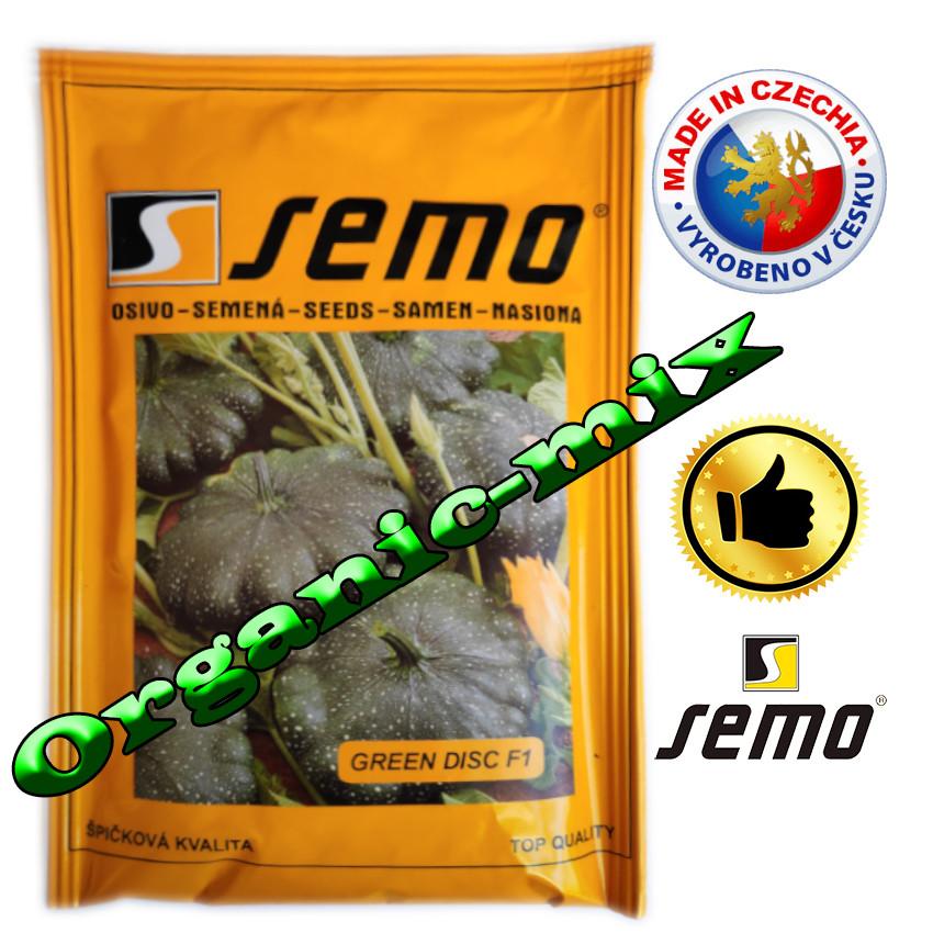 Патиссон мини, зеленый ГРИН ДИСК F1 / GREEN DISK F1, ТМ Semo (Чехия) 500 семян, проф. пакет