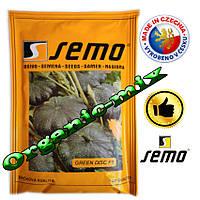 Патиссон мини, зеленый ГРИН ДИСК F1 / GREEN DISK F1, ТМ Semo (Чехия) 500 семян, проф. пакет, фото 1