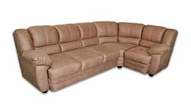 Кожаный угловой диван Барт
