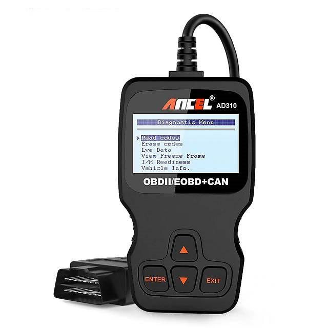 Автосканер диагностический ANCEL AD310 (OBD2/EOBD+CAN)