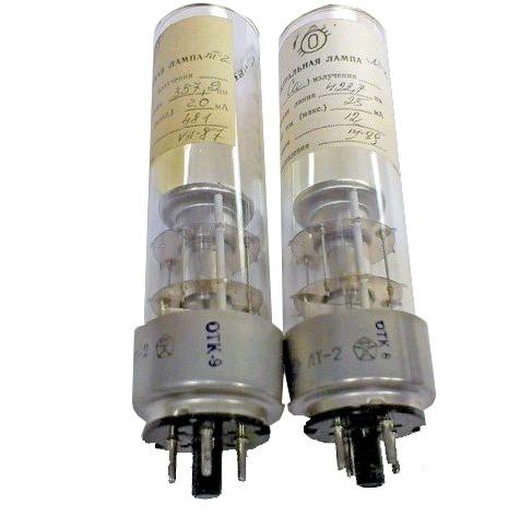 Лампа спектральная ЛТ-2 (Al) с полым катодом