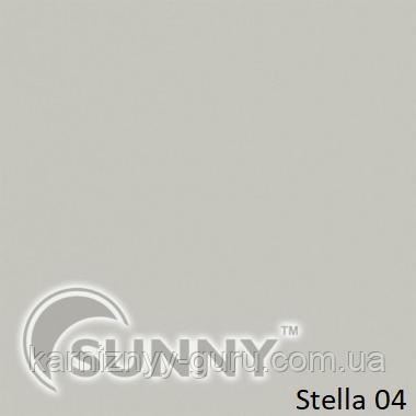 Рулонные шторы для окон в открытой системе Sunny, ткань Stella