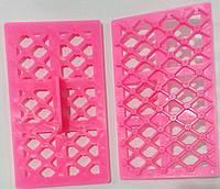 Кондитерский пресс (перчворк) пластиковый для мастики «Грань Розочки»EmpireEM0617