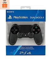 Джойстик DualShock 4 для Sony PS4  Black Беспроводной (Черный)