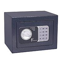 Сейф 23х17х17 см. БС-17ЕН мебельный, офисный для дома или автомобиля