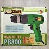 Шуруповерт мережевий ProCraft PB-800, фото 2