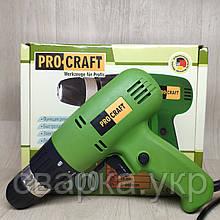 Шуруповерт сетевой ProCraft PB-800