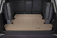 Коврик резиновый в багажник, бежевый. (WeatherTech) 7 мест - Land Cruiser - Toyota - 2008