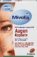 Биологически активная добавка для зрения Mivolis DAS gesunde PLUS Augen с Vitamin A, B2 и Zink, 30 шт., фото 1