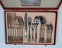 Набор столовыхприборов(Фраже)в деревянном чемоданчике 24 предметаEmpireEM8811