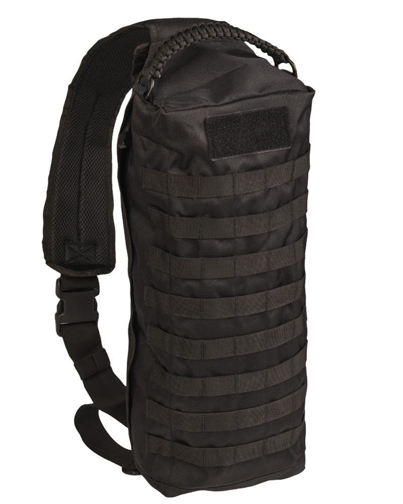 "Сумка тактическая плечевая Mil-Tec ""SLING BAG TANKER"" (13726302) Black"
