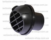 Дифузор (дефлектор) для горячего воздуха, выпускной поворотный, диаметр 60 мм, материал пластик