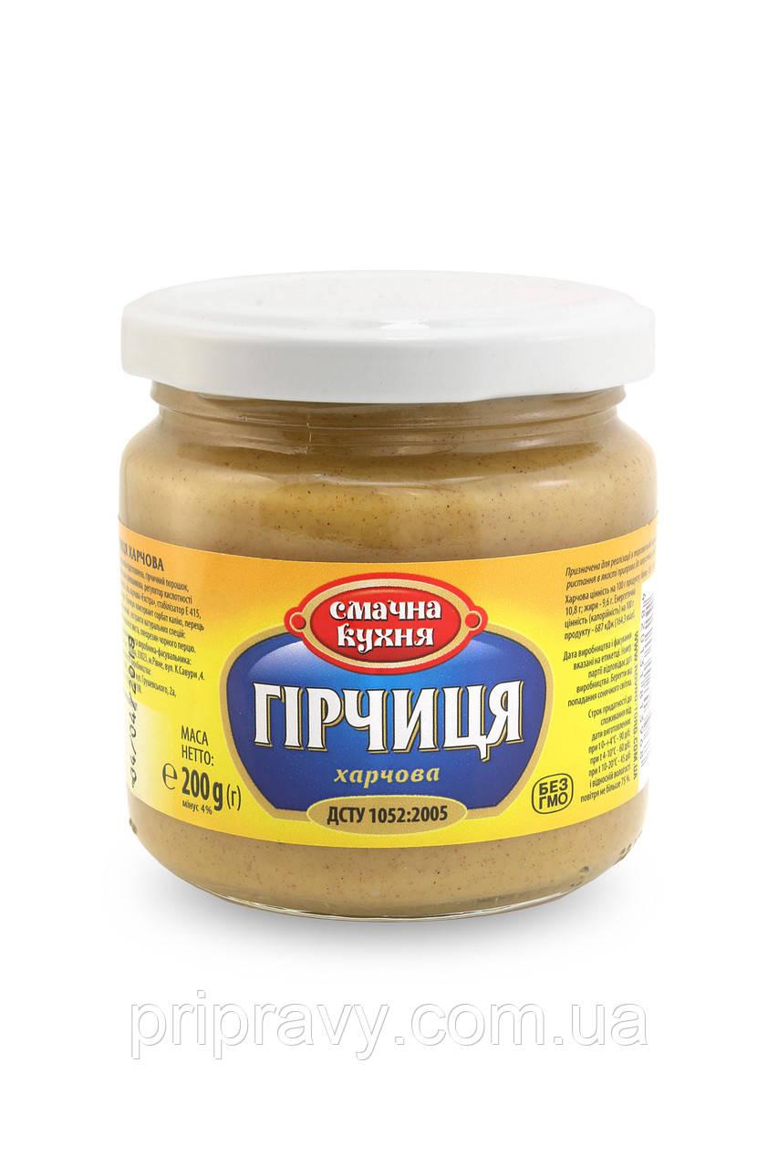 Горчица пищевая ТМ Смачна кухня, фасовка 200 г