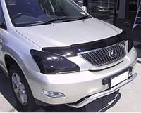 Дефлектор капота (мухобойка), темный (SIM) - RX - Lexus - 2003