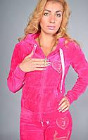 Женский велюровый спортивный костюм Juicy Couture, 100% соттон, разм 42,44,46,48, фото 1