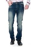 Зауженные джинсы Franco Benussi 13-269 темно-синие, фото 3